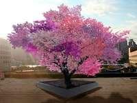 Livets träd - Det är färgstarkt och dekorativt