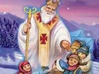 San Nicola - Posiziona i pezzi correttamente per riprodurre l'immagine.
