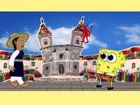 Festas de Quito com Bob Esponja - Você pode resolver esse quebra-cabeça?