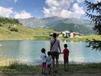 Chamois - Vale de Aosta - Município mais alto da Europa, sem carros, ideal para crianças!