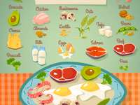 Protein - protein food nutrition