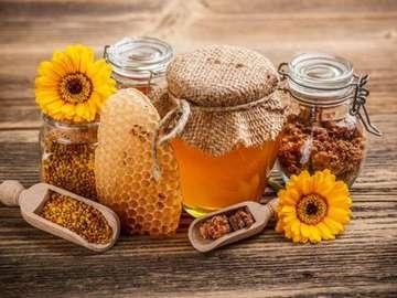prodotti sani delle api