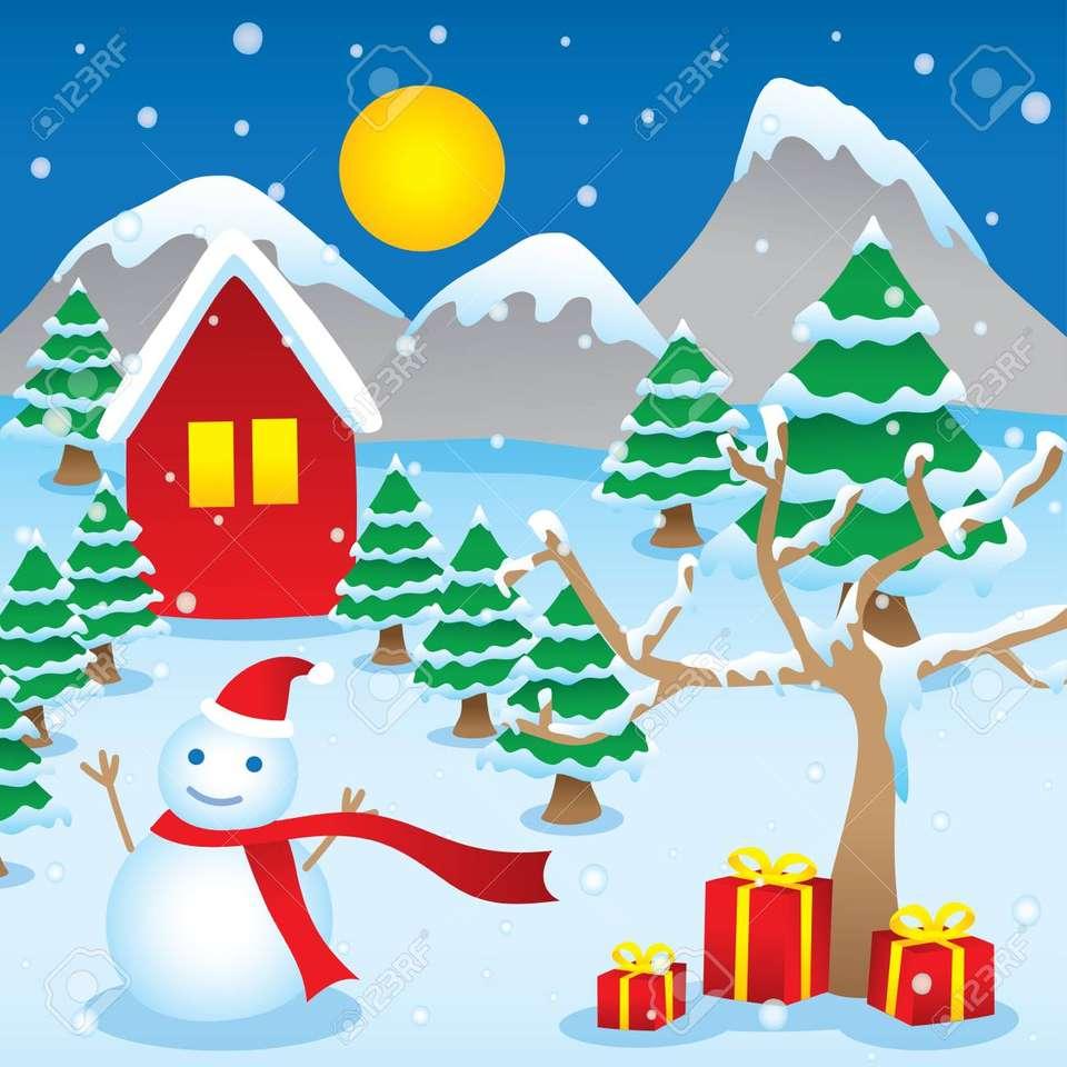 Inverno nel villaggio