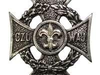 Cruz de batedor - Faça uma cruz de batedor do quebra-cabeça
