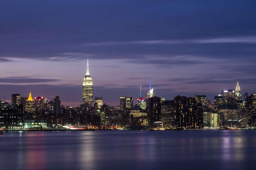 New York pendant la nuit