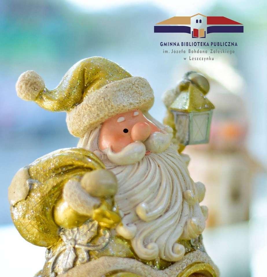 Puzzle pro Ježíška - Santa Claus, bavte se (4×5)