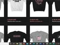 Do you want blackpink clothes? - https://kpopshop.com/collections/blackpink-merch copy this link to Google to buy blackpink clothes