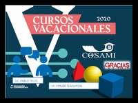 COSAMI 2020 - PRE-COLLEGE VACATION COURSES