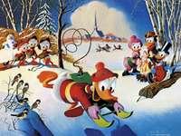 KALLE ANKA - Kaczor Fauntleroy Donald (Donald Fauntleroy Duck, ägs av Paperino) - son till Kaczor Kwaczymon och