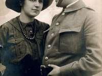 Andrzej and Olga Małkowski - Scouting man