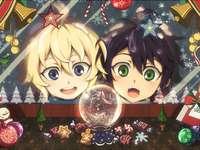 Owari no seraph - Natale con Mika e Yuu :)