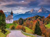 kyrka i bergen - m ....................