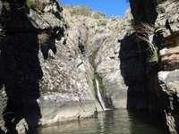 Vízesés - Vízesés Arribes del Duero-ban, Zamora-Spanyolországban