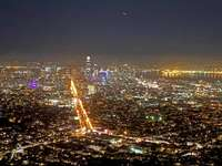 USA San Francisco večer