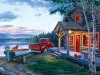 Къщата и колата на езерото - Къщата и колата на езерото