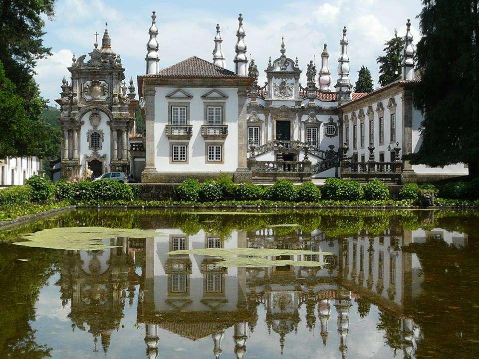 Le Palácio de Mateus - dans la freguesia de Mateus, dans la municipalité de Vila Real (14×11)