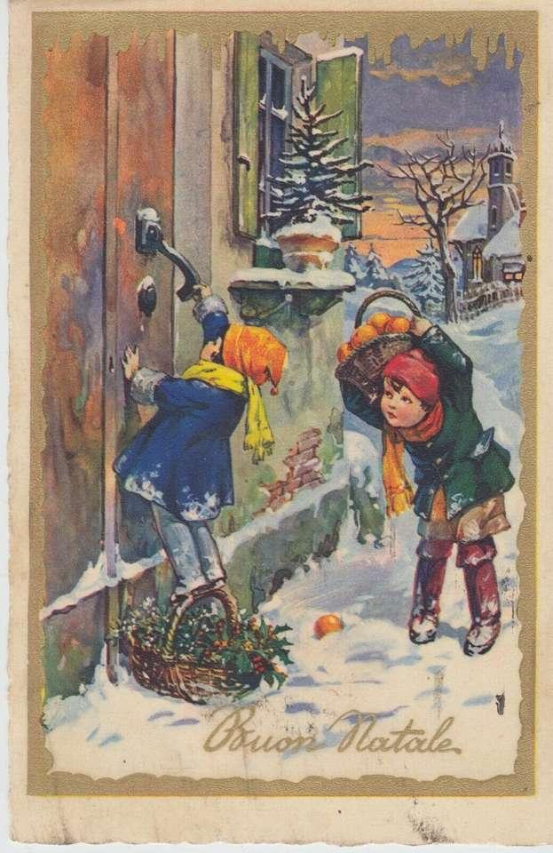 Děti na Vánoce