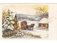El carruaje de Navidad