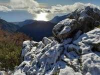 prima neve sulla Costa Azzurra