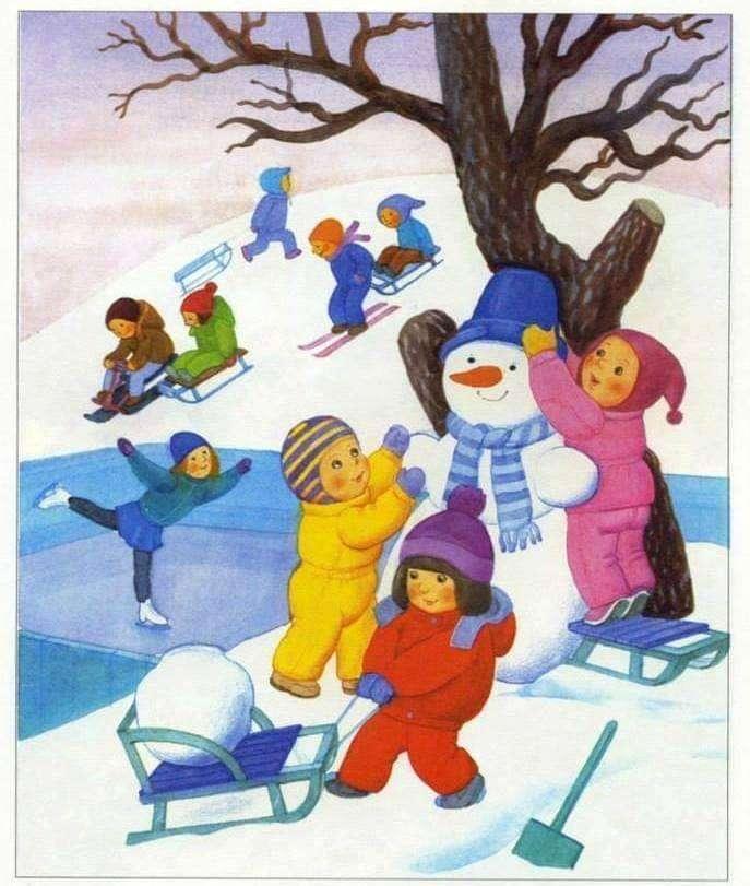 Iarna copiilor - se sněhem ne jucăm pei na ledě alunecăm (3×4)