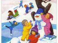 Iarna copiilor
