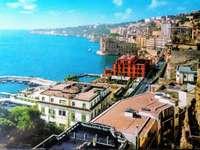 Posillipo Hill Naples Italie