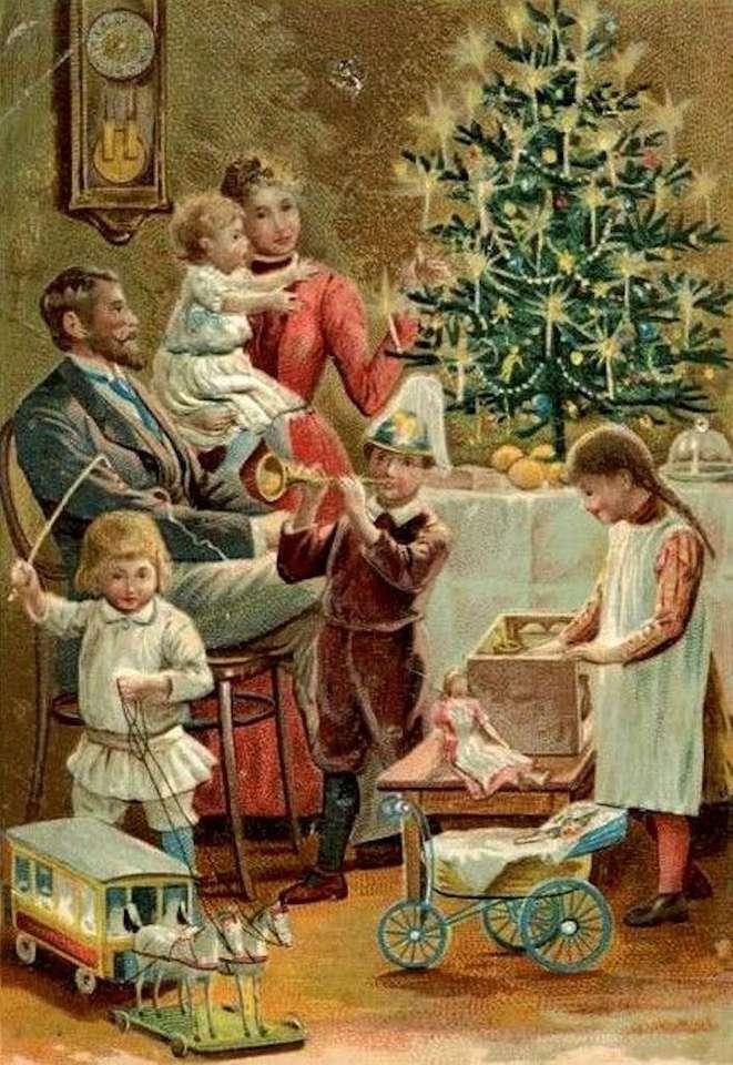 семейство по празници - м (6×10)