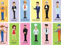 Professions for 3rd grade