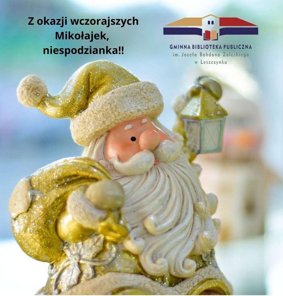 Mikolajki - Puzzle cu Moș Crăciun (8×9)