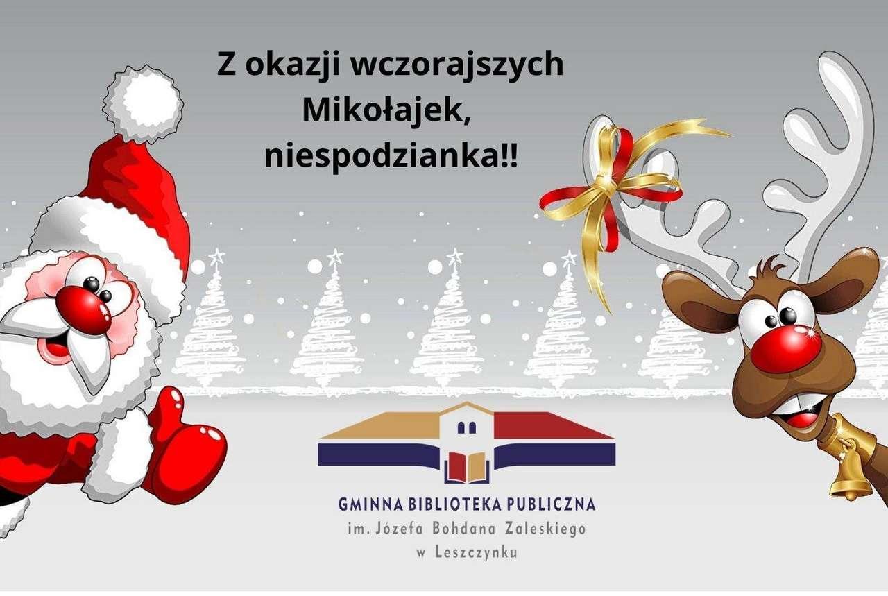 Mikołajki, druhá verze - puzzle pro relaxaci, radostné a barevné (5×4)