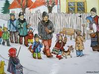 Obiceiuri și tradiții de iarnă-Colindatul