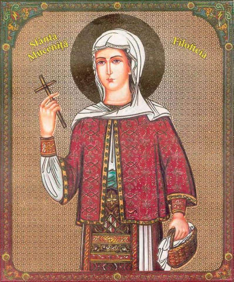 Saint Filofteia - Saint de Curtea de Argeș (5×7)