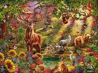 << I skogen >>