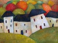 De witte huizen