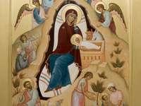 Ikona Narodzenia Chrystusa