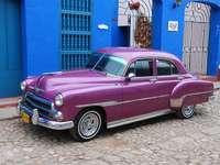 kubai autó Kubában