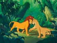Simba, Nala, Lejonkungen,