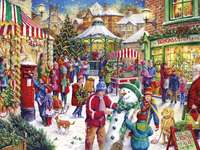 Noël dans la petite ville