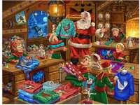 Дядо Коледа стая