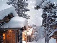 L'hiver en Finlande.