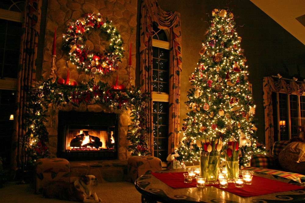 Sapin de Noël - Décoration de Noël à la maison (8×6)