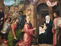 Gemälde Jesu Geburt