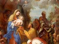Malba Ježíšova narození
