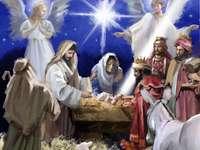 Ζωγραφική της γέννησης του Ιησού