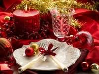 festivement pas la table