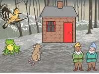 Casa del bosque- En el bosque con avellanas- Canción