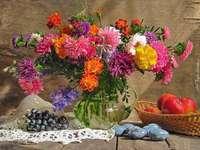boeket van herfstbloemen