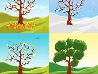 As quatro estações para crianças