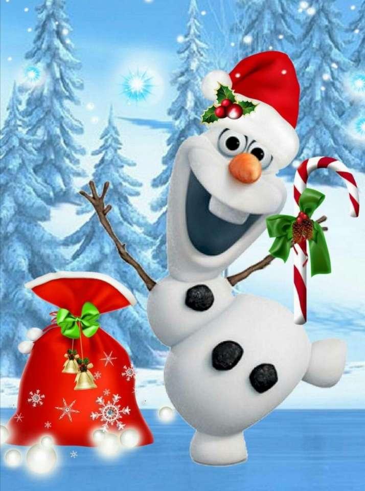 Olaf vrolijk kerstfeest