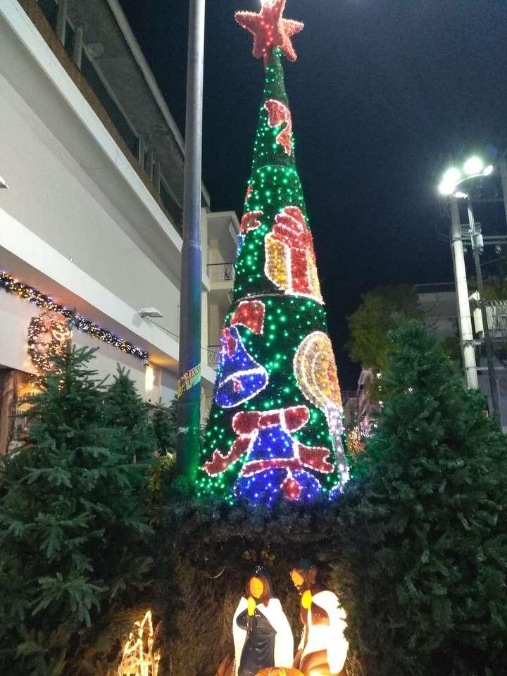 vánoční strom - Vánoční strom (3×4)